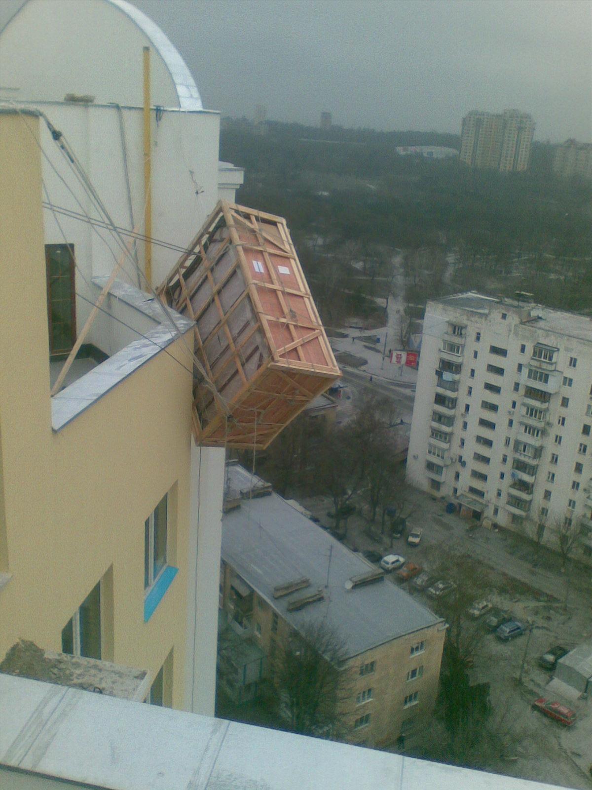 Подьем джакузи 560кг. на 17 этаж (3)