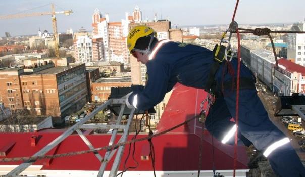 Отделочные работы высотных зданий